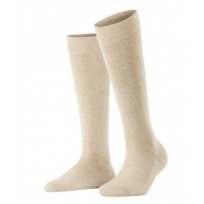 Foto van Falke Sensitive London dames kniekous SAND MELE 47626 - 4659