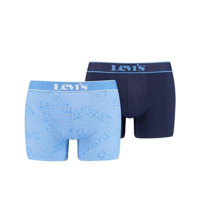 Foto van Levi's 2-Pack Boxer Blue Combo 701203914 001