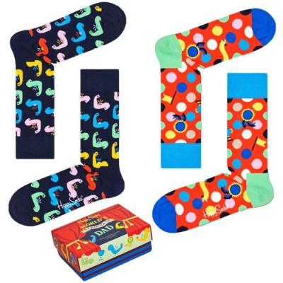 Foto van Happy Socks WORLD'S STRONGEST DAD GIFTBOX XFAT02-0200