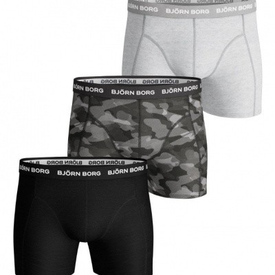 Foto van Bjorn Borg Essentials 3-Pack heren boxers 9999-1132 90651