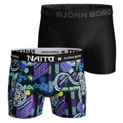 Foto van Bjorn Borg Heren boxer LIGHTWEIGHT microfiber NAITO SAMMY CITY BLACK 2021-1328 90651