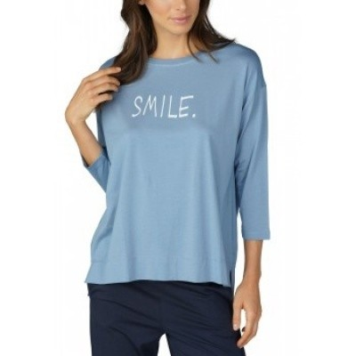 Foto van Mey Dames Night2Day 3/4 shirt NIGHT BLUE 16877