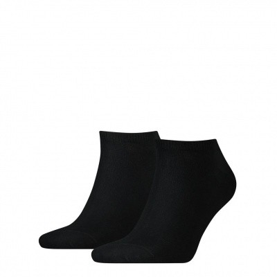 Foto van Tommy Hilfiger Heren sneaker sokken 2-pack BLACK 342023001