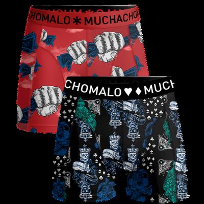 Foto van Muchachomalo heren boxer short 2-Pack MONEY & GAMBLE GAMBL1010-04