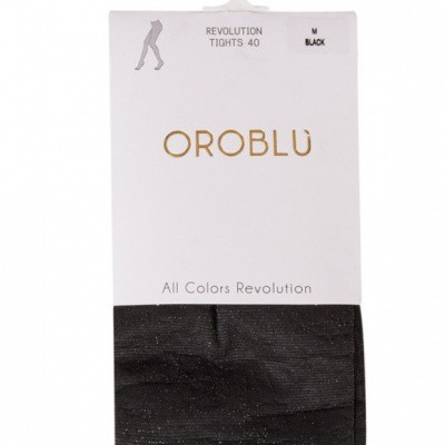 Foto van Oroblu All Colors 40 Panty REVOLUTION BLACK 12 VOBC65558