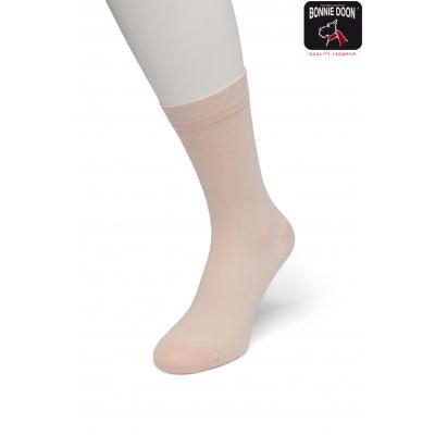 Foto van Bonnie Doon Cotton Sock ALMOST APRICOT 83422