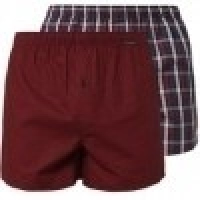 Foto van Schiesser Heren Geweven Boxer 2-Pack RED 154789
