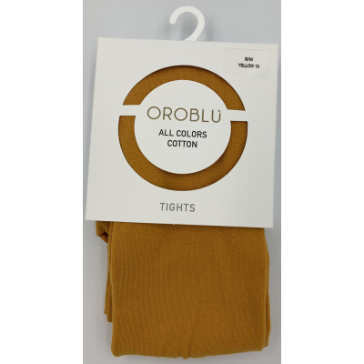 Foto van Oroblu All Colors katoenen panty VOBFC1LT0 0770 Yellow10
