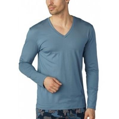 Foto van Mey Shirt Serie Basic Lounge Licht Blauw 46520