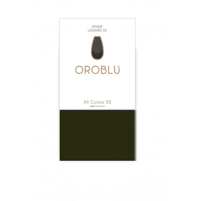 Foto van Oroblu All Colors 50 panty legging MILITARY8 OR1165050