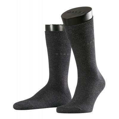 Foto van Esprit Men's Basic Sensitive 2-Pack ANTHRACITE MELE 17874