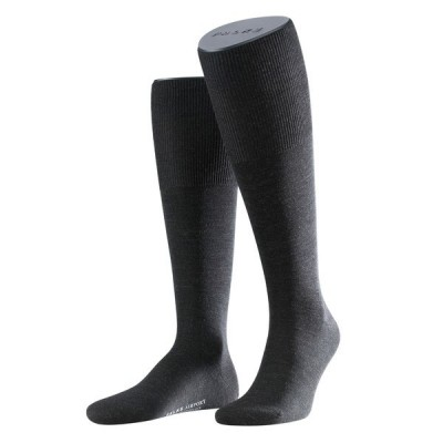 Falke Airport Heren kniekous ANTHRACITE MELE 15435 3080