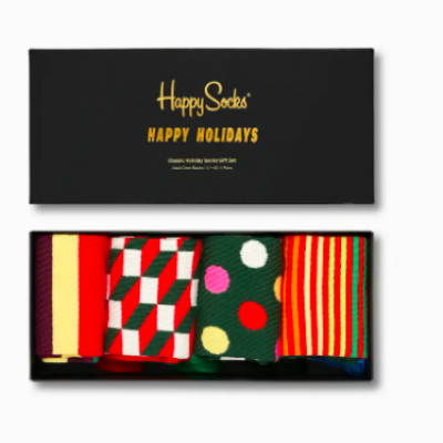 Foto van Happy Socks CLASSIC HOLIDAYS Gift Box XHAS09-0100