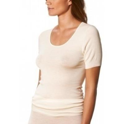 Foto van Mey Exquisite wol/zijde T-Shirt 1/2 mouw WOOLWHITE 66576