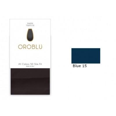 Foto van Oroblu All Colors Slim fit 50 BLUE15 OR 1145060
