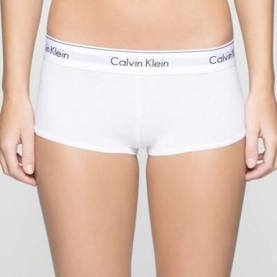 Foto van Calvin Klein Modern Cotton damesboxer WHITE 0000F3788E NOS