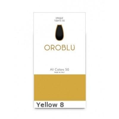 Foto van Oroblu All Colors 50 Panty YELLOW 8 OR 1145050