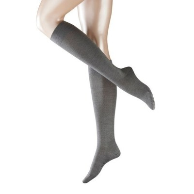 Foto van Falke Sensitive Berlin Kneehigh LIGHT GREY MELE 47416