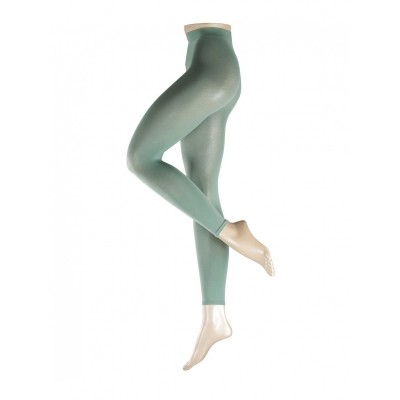 Foto van Falke Cotton Touch katoenen dames Legging WEDGEWOOD 40084