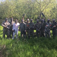 ​Outdoor paintball vrijgezellenfeest