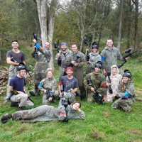 ​Outdoor paintball