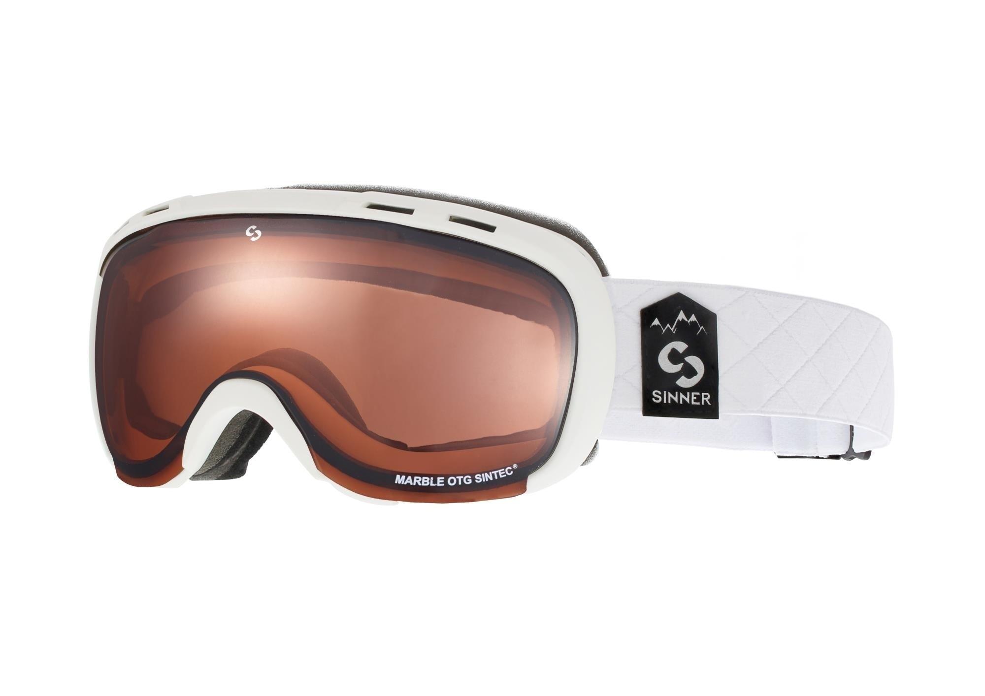 Skibril snowboardbril Marble