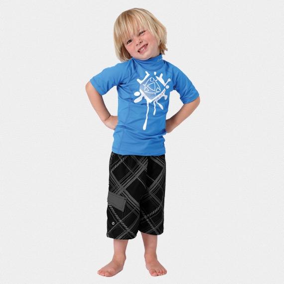 Mystic kinderen UV lycra shirt Star
