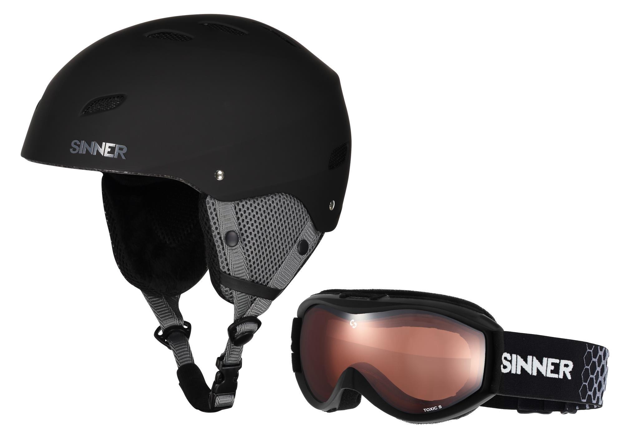 Sinner Combi Pack skihelm+skibril