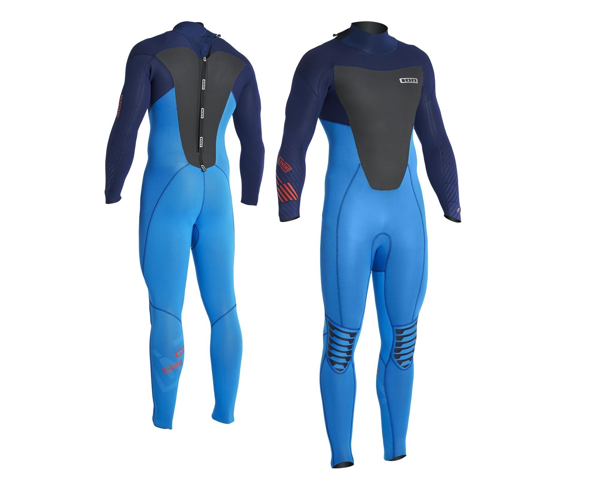 Ion wetsuit Element 2016 blue