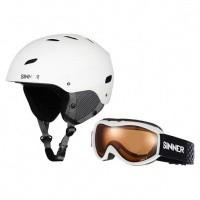 Foto van Sinner combi pack skihelm met skibril