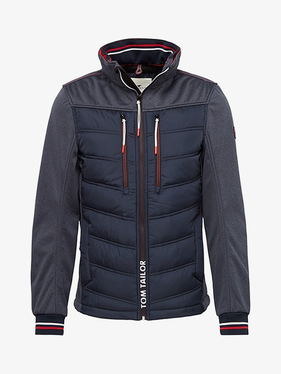 Tom Tailor Hybrid heren jas