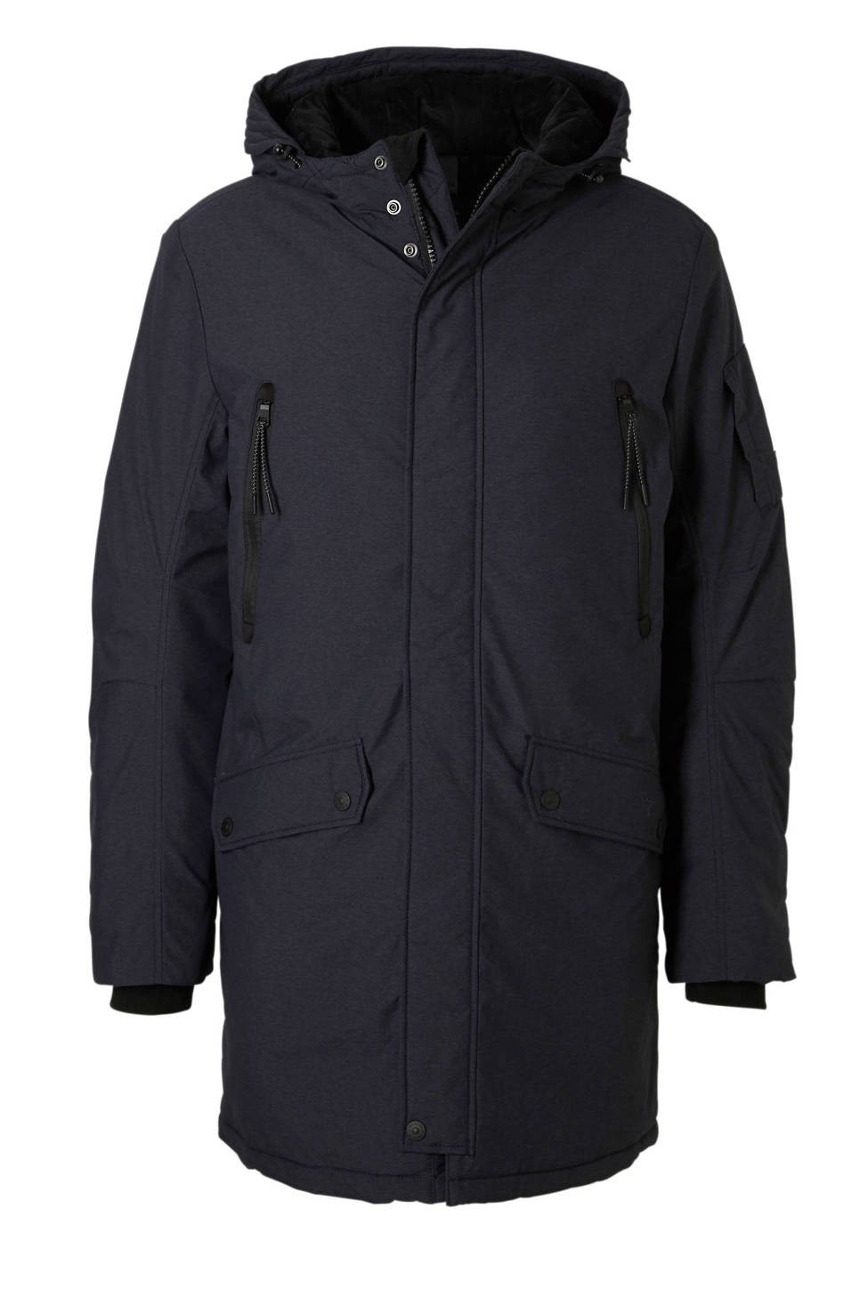 Winterjas Parka Heren.Tom Tailor Heren Winterjas Parka