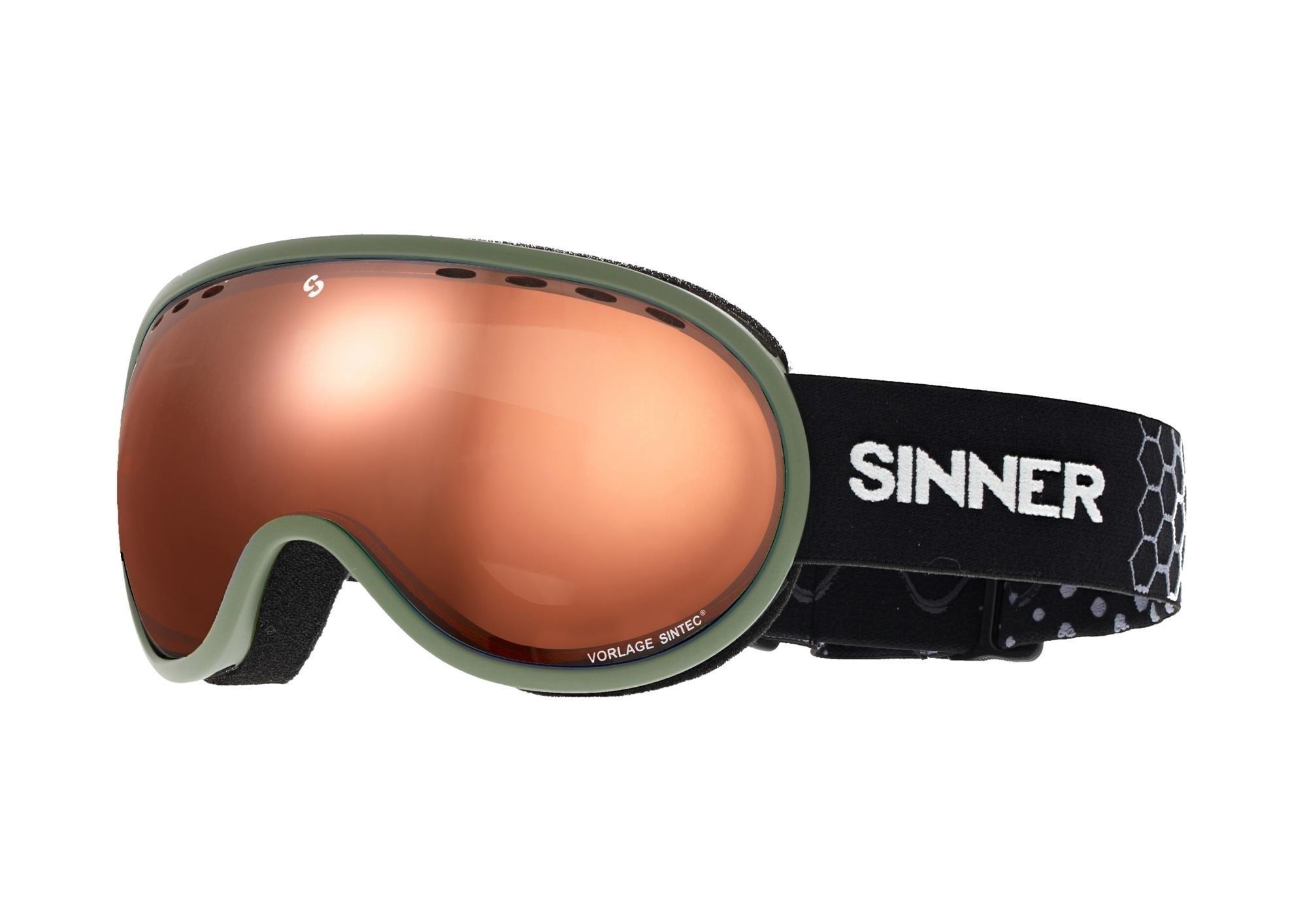 Snowboardbril Sinner Vorlage