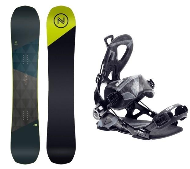 Complete Snowboard set Nidecker Merc+SP Core