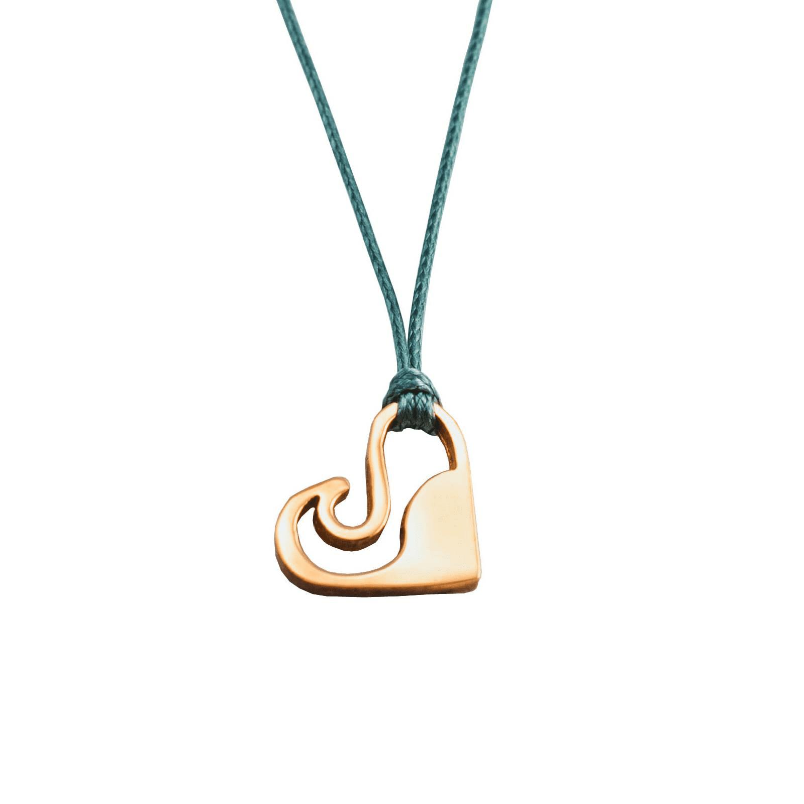 Zilveren Love Wave armband/halsketting