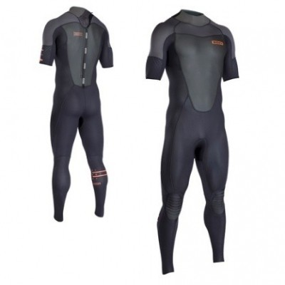 ion Element wetsuit short arm back zip