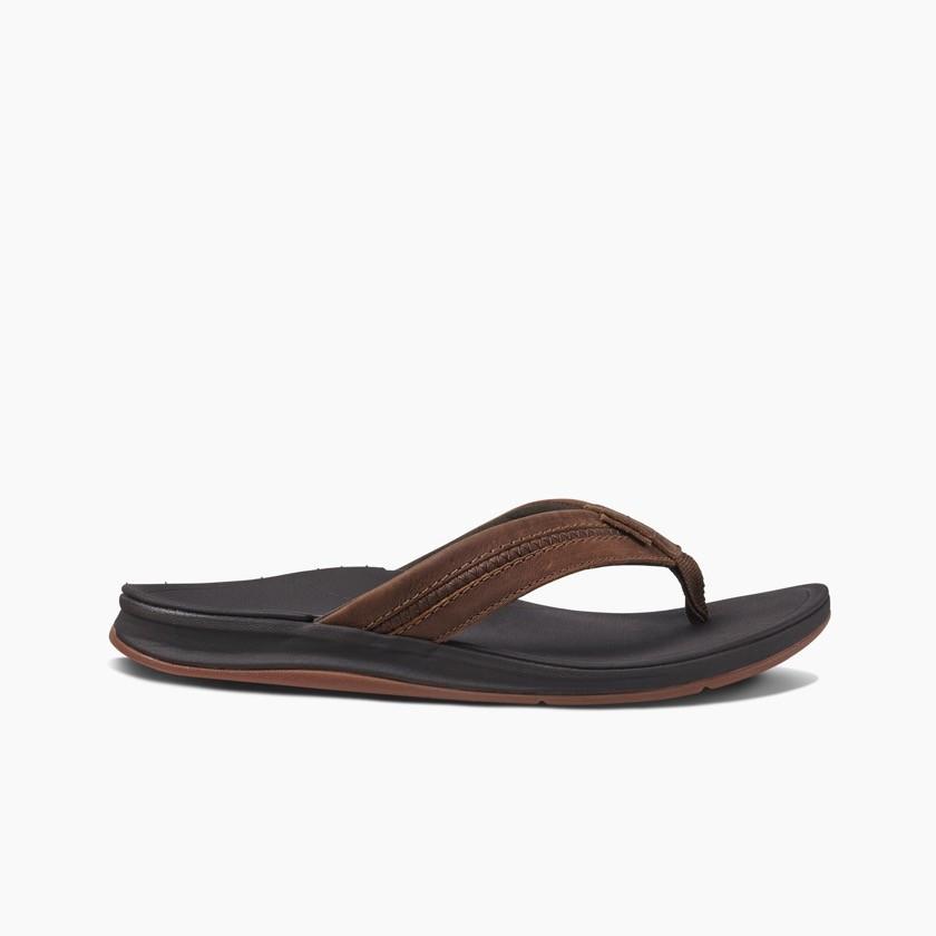 Reef heren slipper Leather Ortho Bounce
