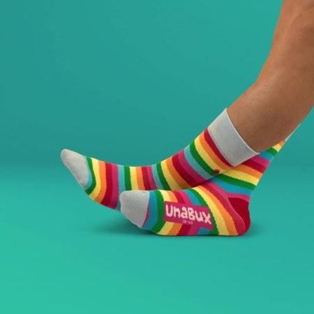Unabux sokken Rainbow