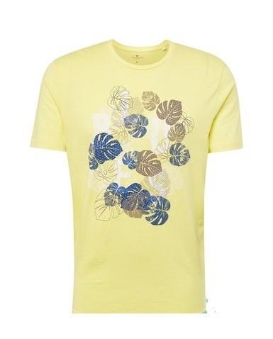 Tom Tailor heren t-shirt Flower