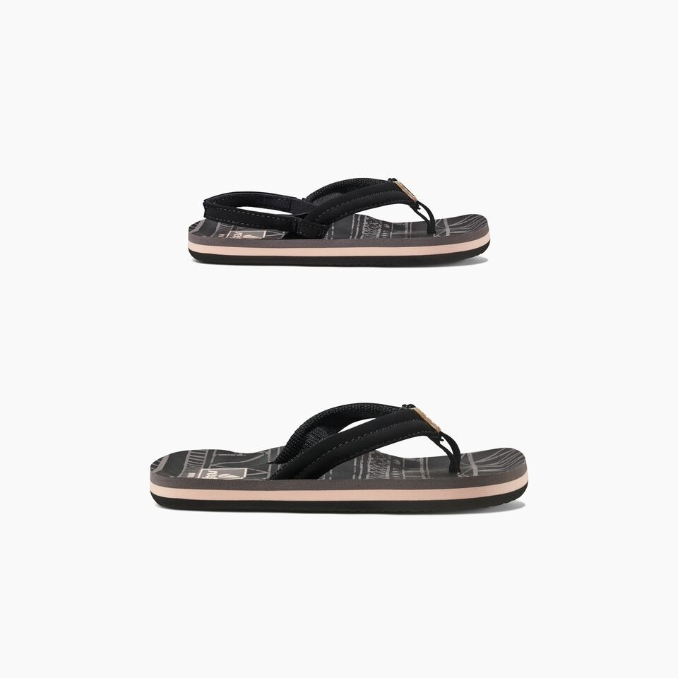 Reef Little Ahi slippers