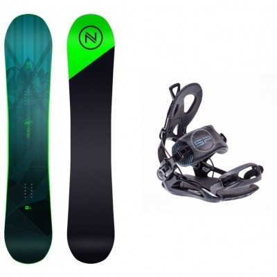 Foto van Complete snowboardset Axis+SP private bindingen