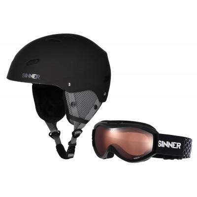 Foto van Sinner Combi Pack skihelm+skibril