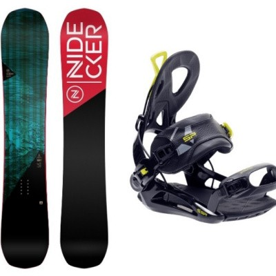 Foto van Complete Snowboard set Nidecker Score+SP Private