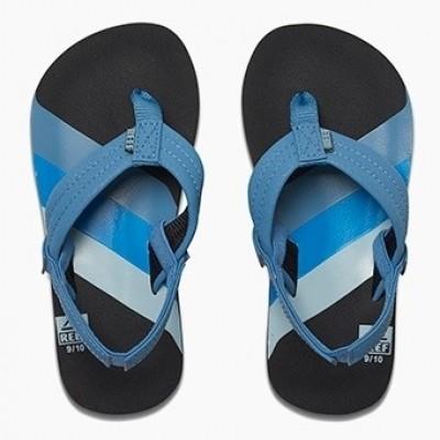 Foto van Reef jongens slipper Ahi 70s blue