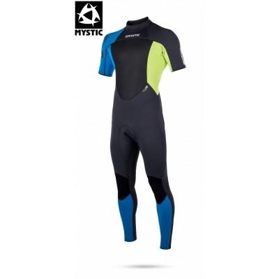 Mystic heren wetsuit Star short arm 3/2 back-zip