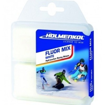 Foto van Holmenkol snowboard wax Fluor mix