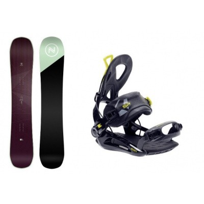 Foto van Complete Snowboard set Nidecker Venus+SP Private