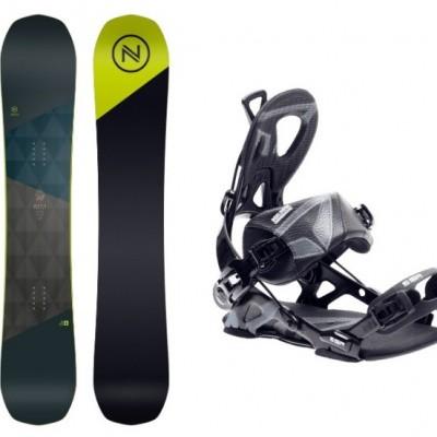 Foto van Complete Snowboard set Nidecker Merc+SP Core