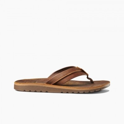 Reef heren leren slipper Voyage LUX