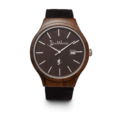 Burnwood horloge Spinx black